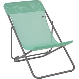 Lafuma Mobilier Maxi Transat - Siège camping - Batyline gris/vert